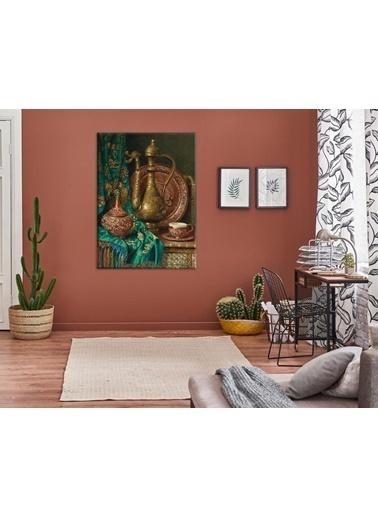 Chic Life Chic Life Osmanlı Altın Ibrık Kanvas Tablo-70*100 cm Renkli